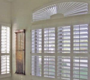 Windows with white shutters, Shutters & Blinds of Arizona, Cave Creek AZ