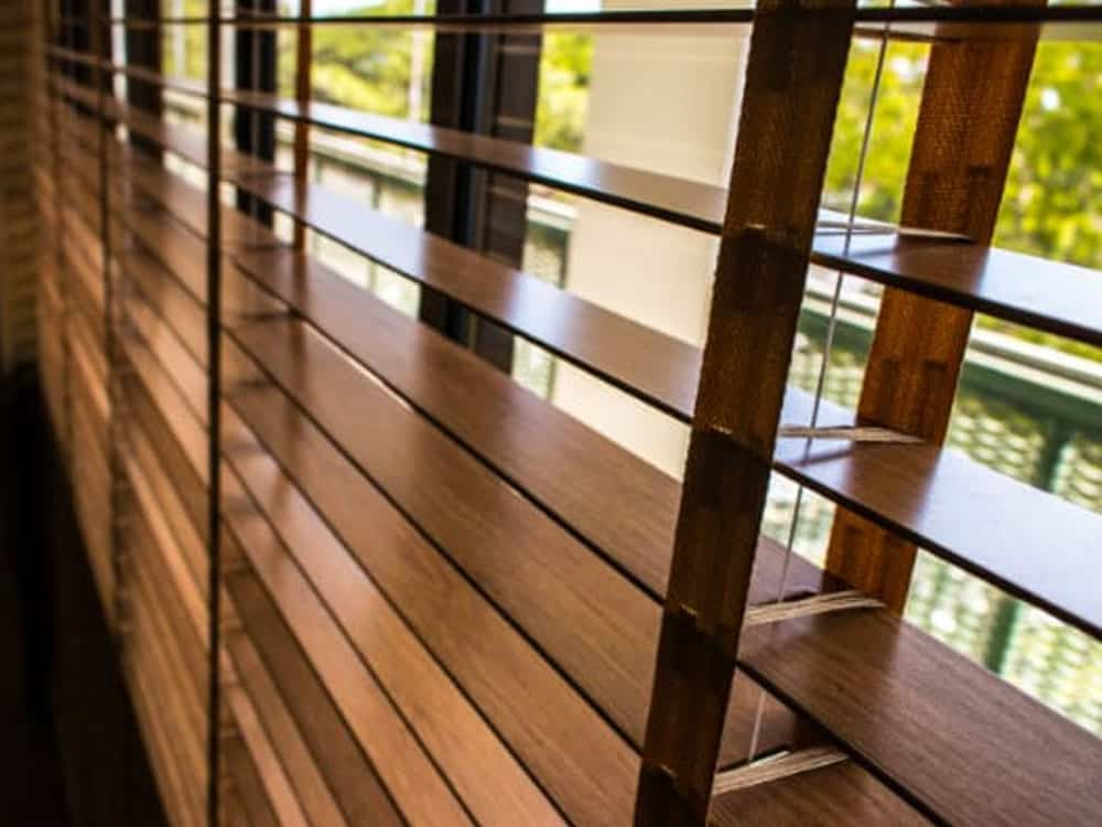 Faux wood blinds for sale with installation